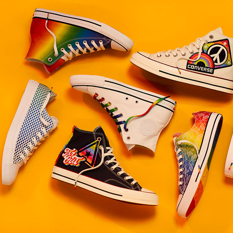 Yes to all Converse